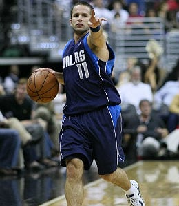 J.J. Barea is playing well off the Dallas Mavericks bench.