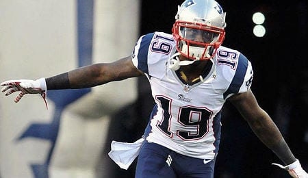 Brandon LaFell had two TDs for the New England Patriots on Sunday.