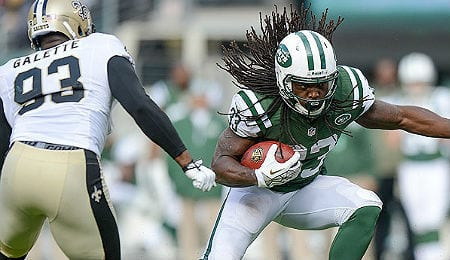 Chris Johnson get to go up against his former team for the New York Jets.