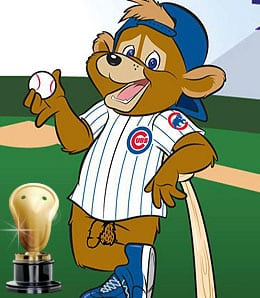 Clark the Cub created a stir.