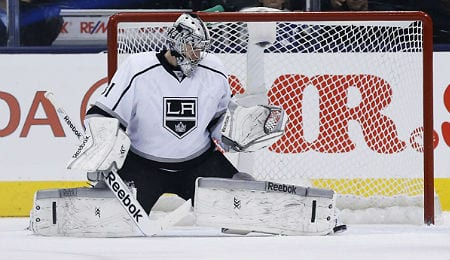 Martin Jones keeps making saves for the Los Angeles Kings.