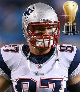 Rob Gronkowski was healthy and once again, studly, for the New England Patriots.