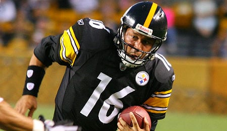 Charlie Batch spent most of his career as the backup QB for the Pittsburgh Steelers.
