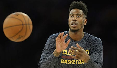 Iman Shumpert has played very well since getting healthy for the Cleveland Cavaliers.