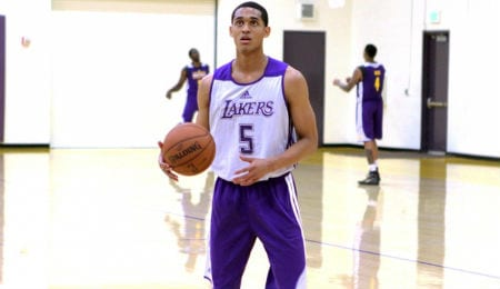 Jordan Clarkson has been contributing offensively for the Los Angeles Lakers.