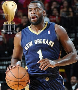Tyreke Evans finally headed in the right direction for the New Orleans Pelicans.