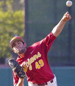 Marc Huberman suffered the University of Southern California Trojans first loss of the season.