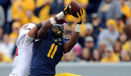 Kevin White is a playmaker for the West Virginia Mountaineers.