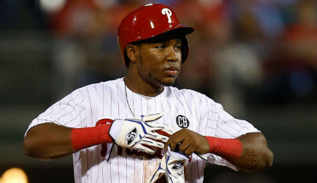Maikel Franco is tearing up Triple-A for the Philadelphia Phillies.