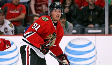 Brad Richards brings tons of experience to the Chicago Blackhawks.