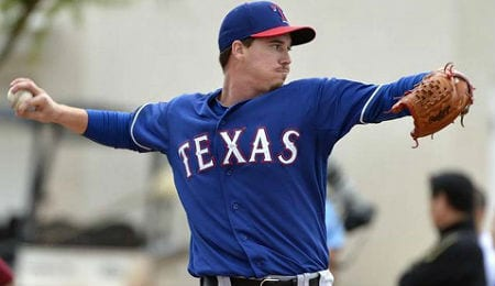 Former first round pick Chi Chi Gonzalez is paying off for the Texas Rangers.