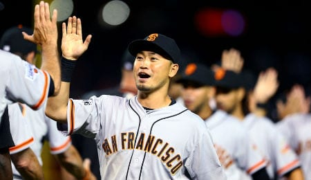 Nori Aoki was having a superb season for the San Francisco Giants.