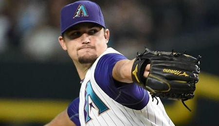 Zack Godley has helped the Arizona Diamondbacks recent run of pitching excellence.