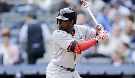 Jackie Bradley Jr. is raking for the Boston Red Sox.