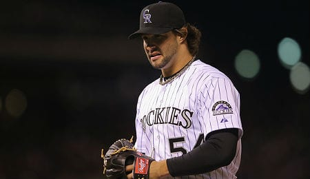 Tommy Kahnle is now saving games for the Colorado Rockies.