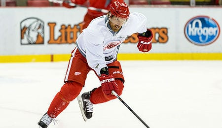 Brad Richards has signed with the Detroit Red Wings.
