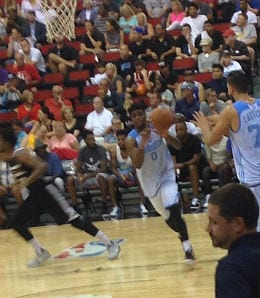 Emmanuel Mudiay was the top pick of the Denver Nuggets.