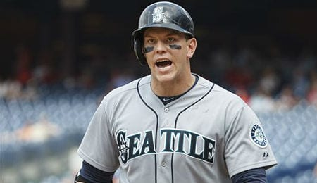 Logan Morrison has been providing a nice all-around game for the Seattle Mariners.