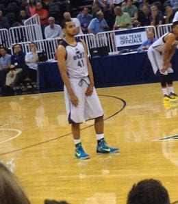 Trey Lyles was the top pick of the Utah Jazz.