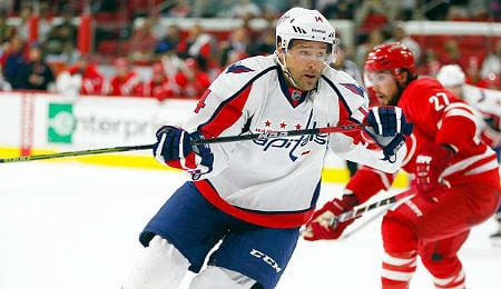 Justin Williams is off to a nice start with the Washington Capitals.