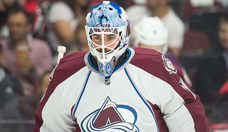 Reto Berra has been seeing a decent amount of action for the Colorado Avalanche.