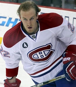 Dale Weise is off to a nice start for the high-flying Montreal Canadiens.