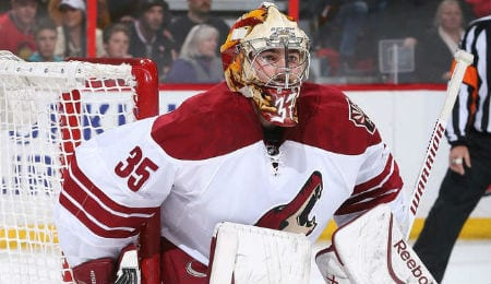 Louis Domingue is spearheading a revival for the Arizona Coyotes.