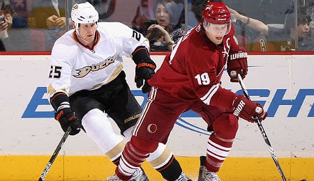 Shane Doan is still producing for the Arizona Coyotes.