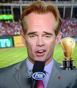 Joe Buck sure can talk for Fox.