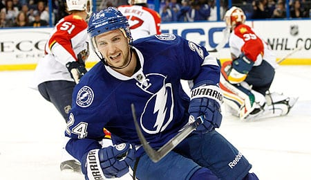 Ryan Callahan is logging points for the Tampa Bay Lightning.