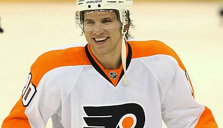 Brayden Schenn enjoyed a career season for the Philadelphia Flyers.