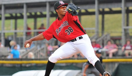 Dillon Tate is quickly rising through the Texas Rangers' system.