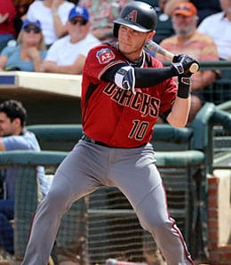 Chris Herrmann is a nice Fantasy option for the Arizona Diamondbacks.