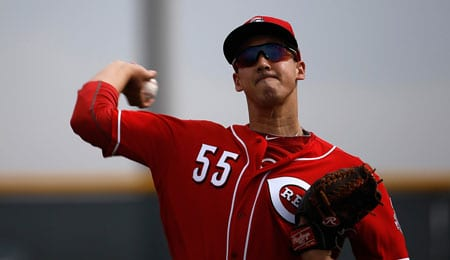 Robert Stephenson could soon be sticking with the Cincinnati Reds.