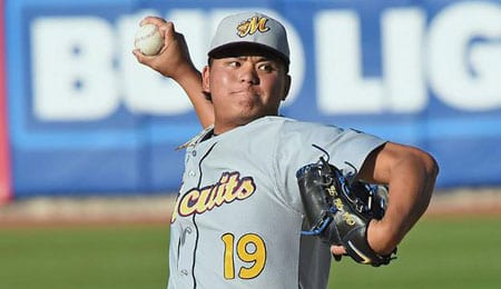 Chih-Wei Hu has been dealing in the minors for the Tampa Bay Rays.