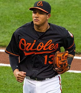 Manny Machado has become a monster for the Baltimore Orioles.