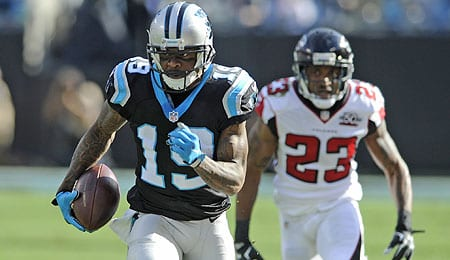 Carolina Panthers WR Ted Ginn Jr. is still trying to live up to his status as a first round pick.