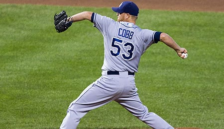 Alex Cobb has made a triumphant return for the Tampa Bay Rays.
