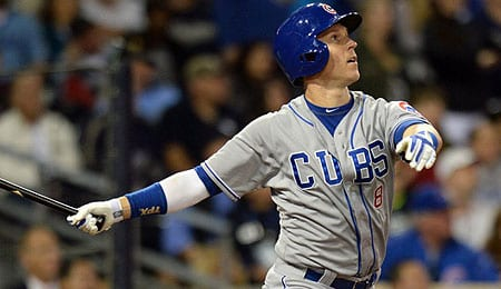 Chris Coghlan has struggled for the Chicago Cubs.