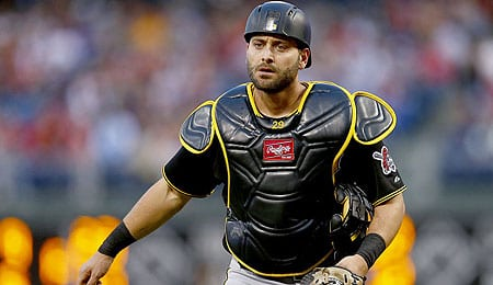 Francisco Cervelli is now hurting for the Pittsburgh Pirates