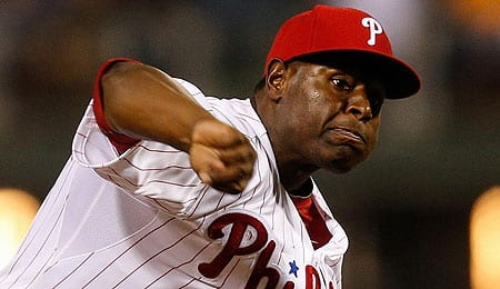 Hector Neris has developed into a top setup man for the Philadelphia Phillies.
