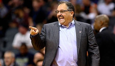 Stan Van Gundy will try to drive the Detroit Pistons back to the playoffs.