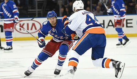 Michael Grabner has been surprisingly effective for the New York Rangers.