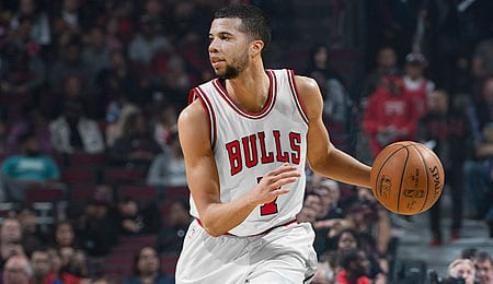 Michael Carter-Williams is getting his shot for the Chicago Bulls.