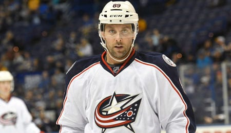 Sam Gagner is scoring plenty of goals for the Columbus Blue Jackets.