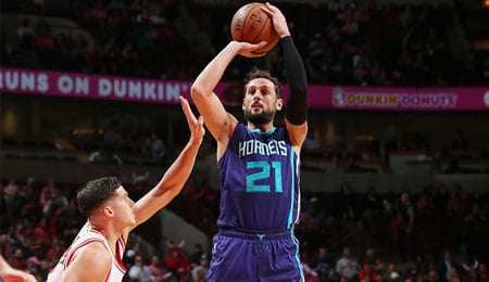 Marco Belinelli could get more burn for the Charlotte Hornets.