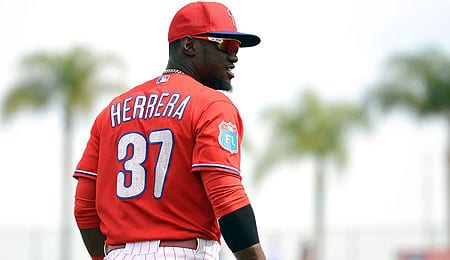 Odubel Herrera showed nice progress for the Philadelphia Phillies.