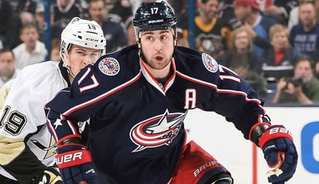 Brandon Dubinsky is gaining interest in Fantasy circles for the Columbus Blue Jackets.