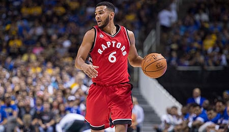 Cory Joseph took advantage of a chance to start for the Toronto Raptors.