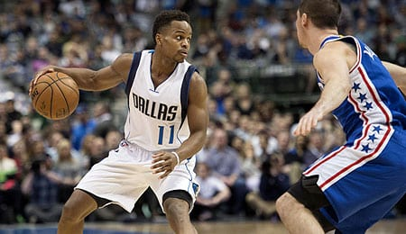 Yogi Ferrell has impressed with the Dallas Mavericks.